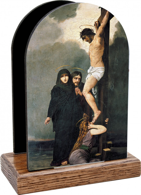 Crucifixion of Our Lord Table Organizer (Vertical)