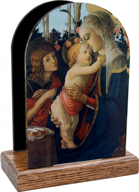 Virgin and her Child Table Organizer (Vertical)
