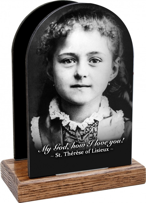 St. Therese (Child) Table Organizer (Vertical)