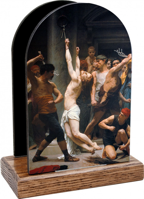 The Flagellation of Christ Table Organizer (Vertical)