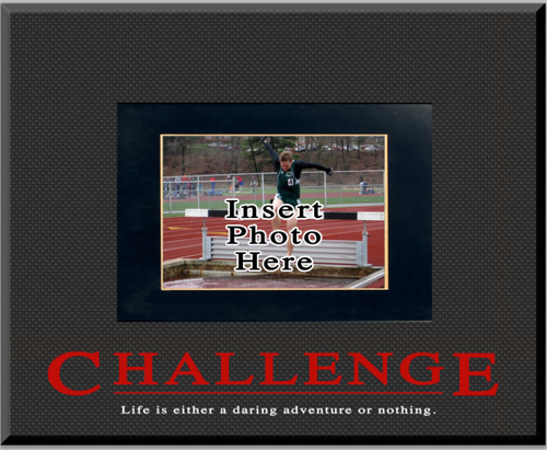 """Challenge"" Picture Frame"