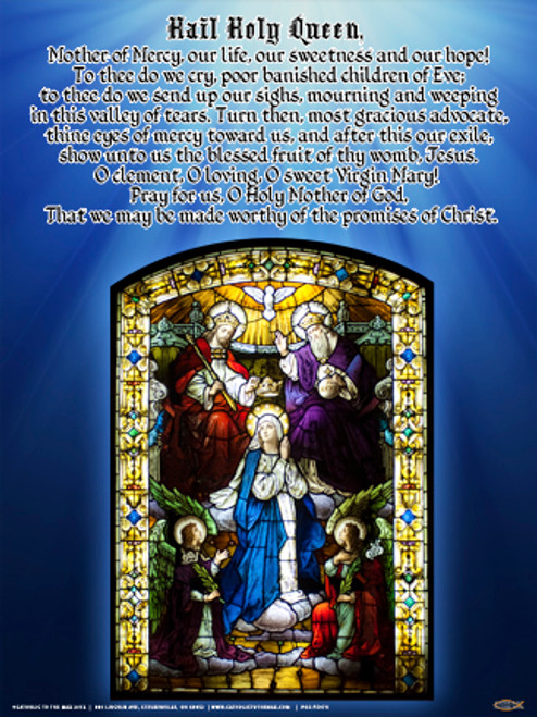 Hail Holy Queen (Coronation of Mary) Poster
