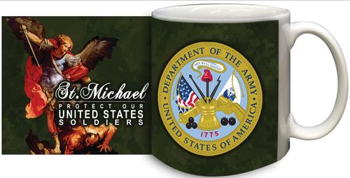 St Michael Army Mug
