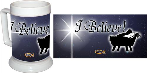 I Believe Beer Stein