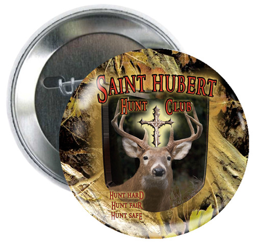 St. Hubert Hunt Club Button