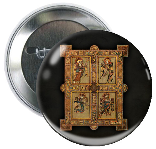 Book of Kells Button