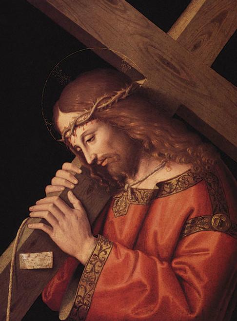 Christ Bearing the Cross - Fine Art Print