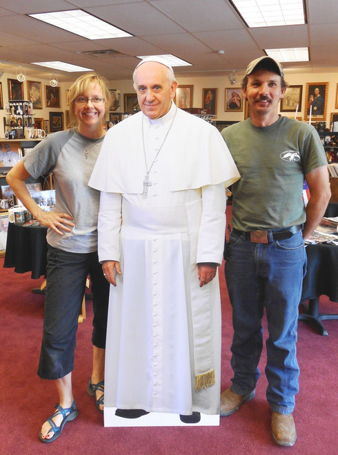Pope Francis Lifesize Standee