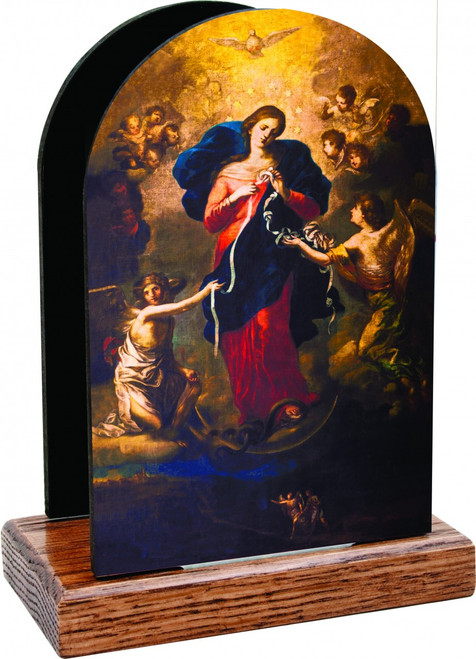 Mary Undoer of Knots Table Organizer (simple)