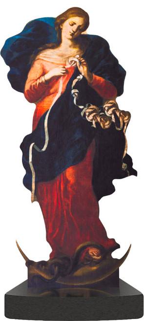 Mary Undoer of Knots Standee