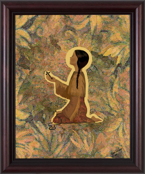 """Kateri's Prayer"" by Nellie Edwards"
