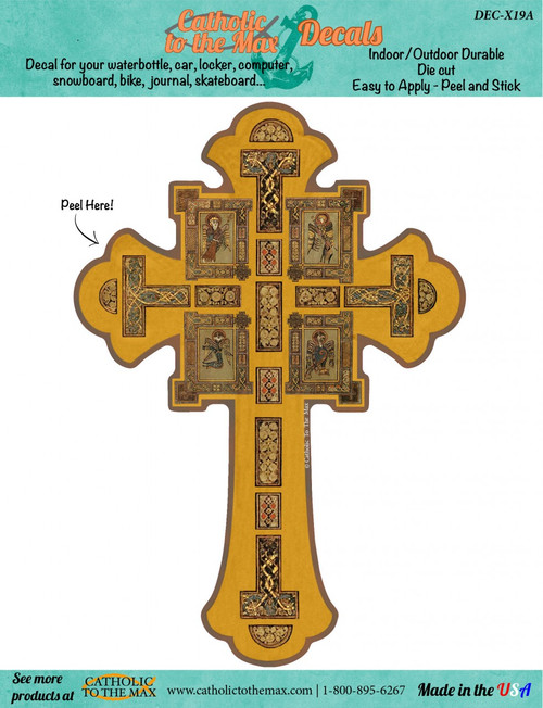 Book of Kells Cross Decal