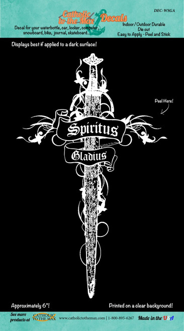 Spiritus Gladius (Large) Decal