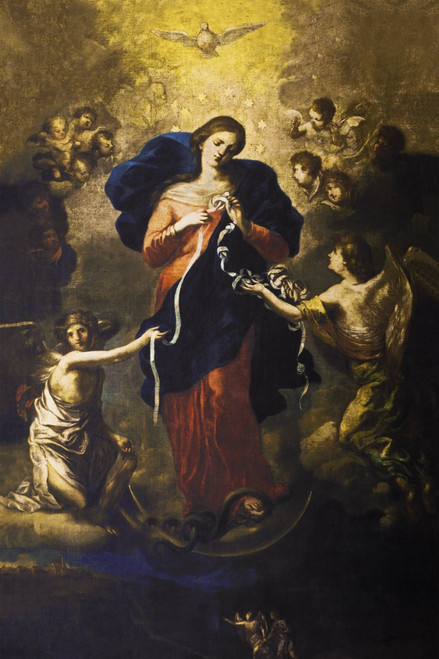 Mary Undoer of Knots Print in Assorted Frames