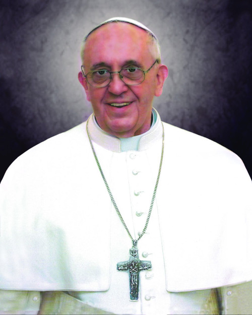 Pope Francis Formal print in assorted frames