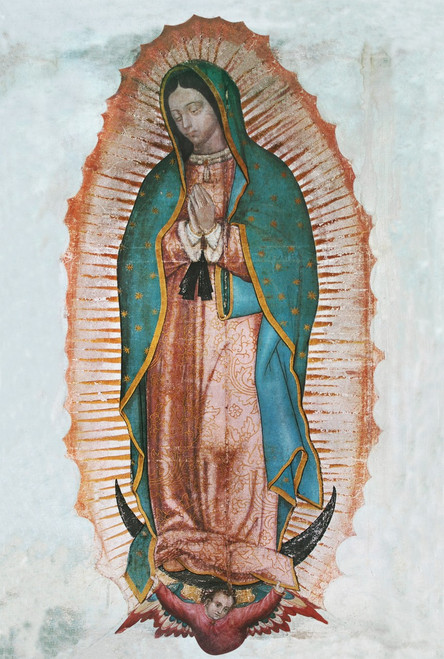 Our Lady of Guadalupe print in assorted frames