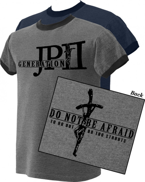 Generation JPII Closeout Ringer Shirt