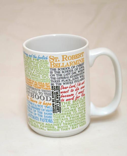 Saint Robert Bellarmine Quote Mug