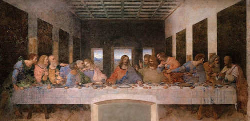 Last Supper by DaVinci print in assorted frames