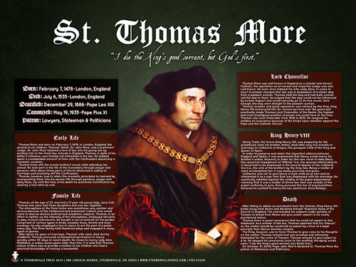 Saint Thomas More Explained Poster