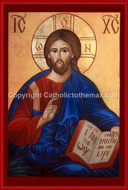 Christ Pantocrator (Modern) Icon Wall Plaque