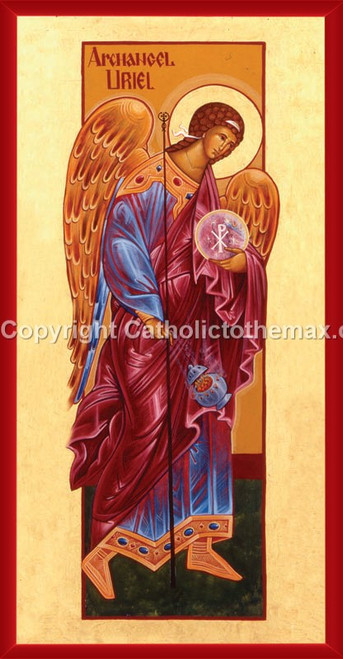 The Archangel Uriel Icon Wall Plaque
