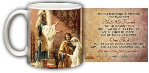 Wedding of Joseph and Mary Graphic Mug