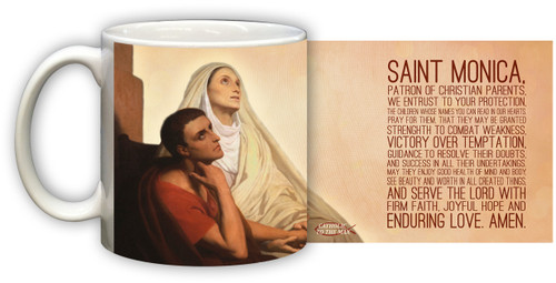 St. Monica Graphic Mug