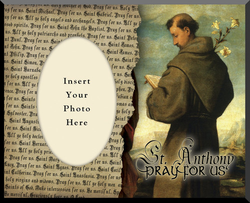 St. Anthony of Padua Picture Frame 2