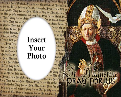 St. Augustine Photo Frame 2