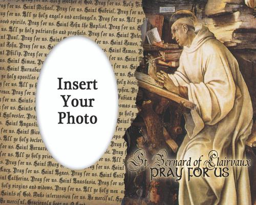 St. Bernard Photo Frame