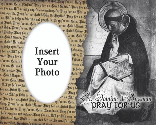 St. Dominic de Guzman Picture Frame