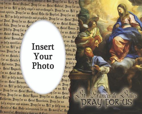 St. Francis de Sales Photo Frame
