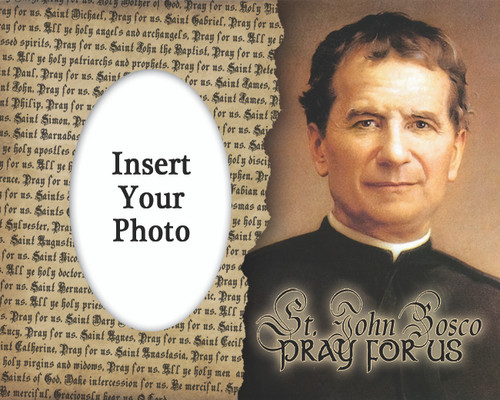 St. John Bosco Photo Frame