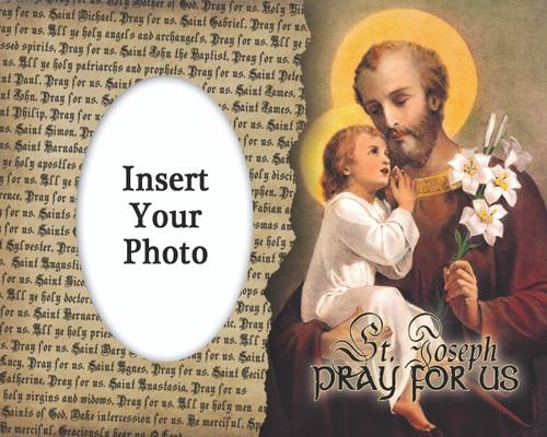 St. Joseph Photo Frame 2
