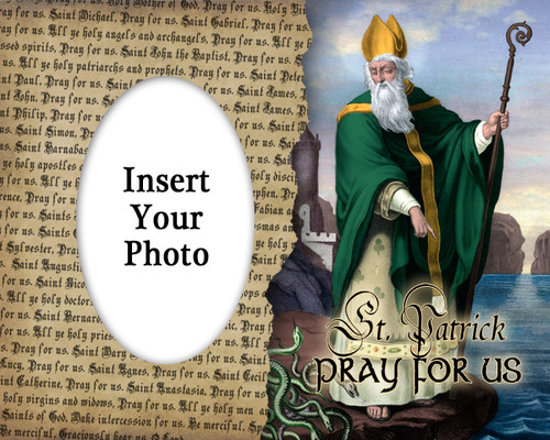 St. Patrick Photo Frame