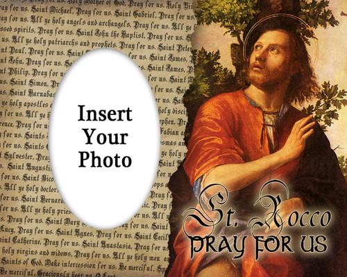 St. Rocco (Roch) Photo Frame