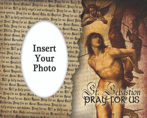St. Sebastian Photo Frame