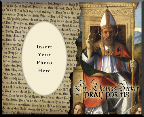 St. Thomas Becket Photo Frame