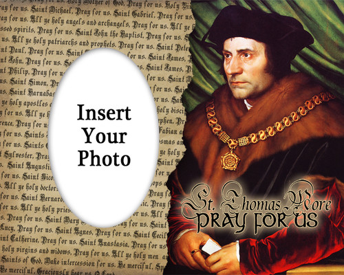 St. Thomas More Photo Frame