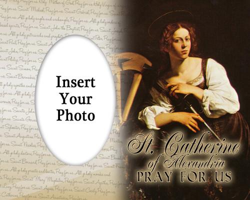 St. Catherine of Alexandria  Photo Frame 2