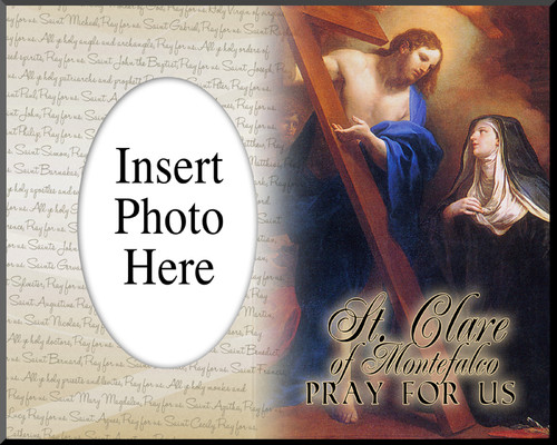 St. Clare of Montefalco Photo Frame