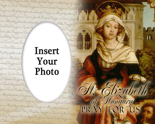 St. Elizabeth of Hungary Photo Frame