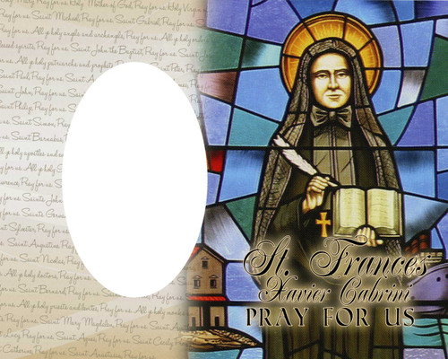 St. Frances Xavier Cabrini Photo Frame
