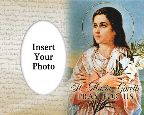St. Maria Goretti Photo Frame