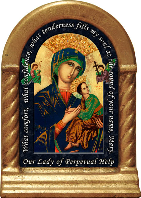Our Lady of Perpetual Help Prayer Desk Shrine