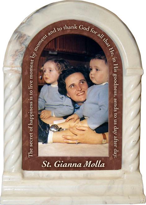 St. Gianna Molla Prayer Desk Shrine