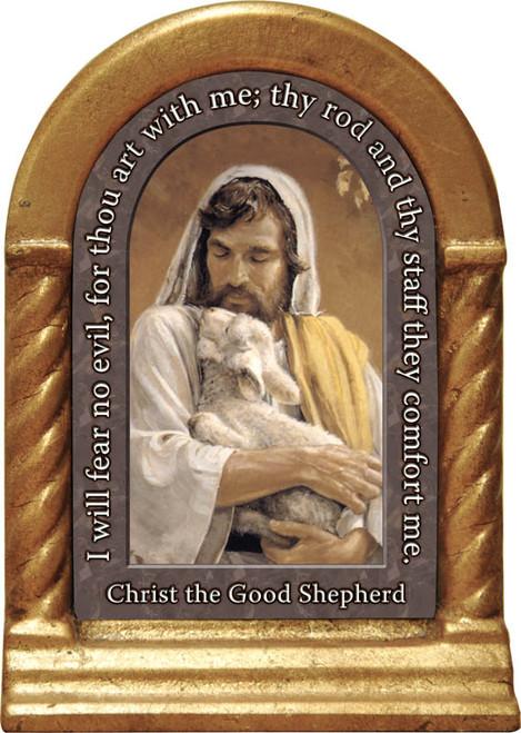 Christ the Good Shepherd Prayer Desk Shrine