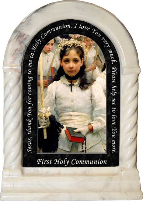 First Holy Communion Prayer Desk Shrine