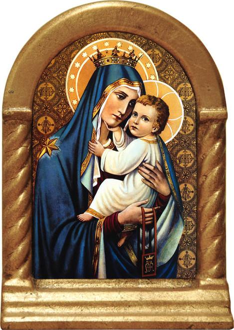 Our Lady of Mt. Carmel Desk Shrine